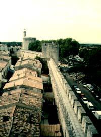 Hradby,jak na ně vidí obránce věže