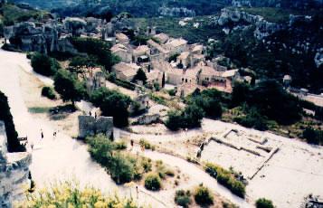 Pohled z horního hradu