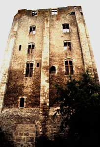 Donjon Beaugency od jihu