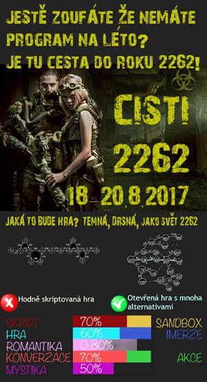 larp Čistí 2262 - Cesty časem