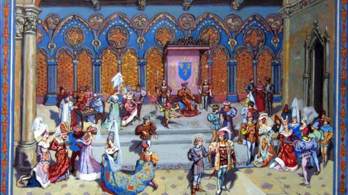 Barevný středověk